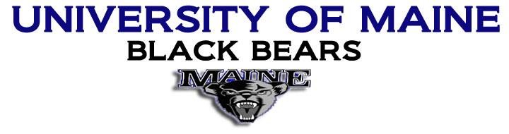Logo of the UMO Black Bears.
