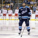 The University of Maine Black Bears defeated the Boston University Terriers in their Hockey East semi-final 5-3 (EN) on Friday, March 16, 2012, at TD Garden in Boston, Massachusetts.
