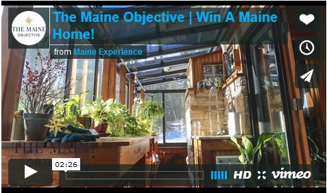 Win Maine Real Estate - Requirements include a 300 word essay and an entry fee of $140!