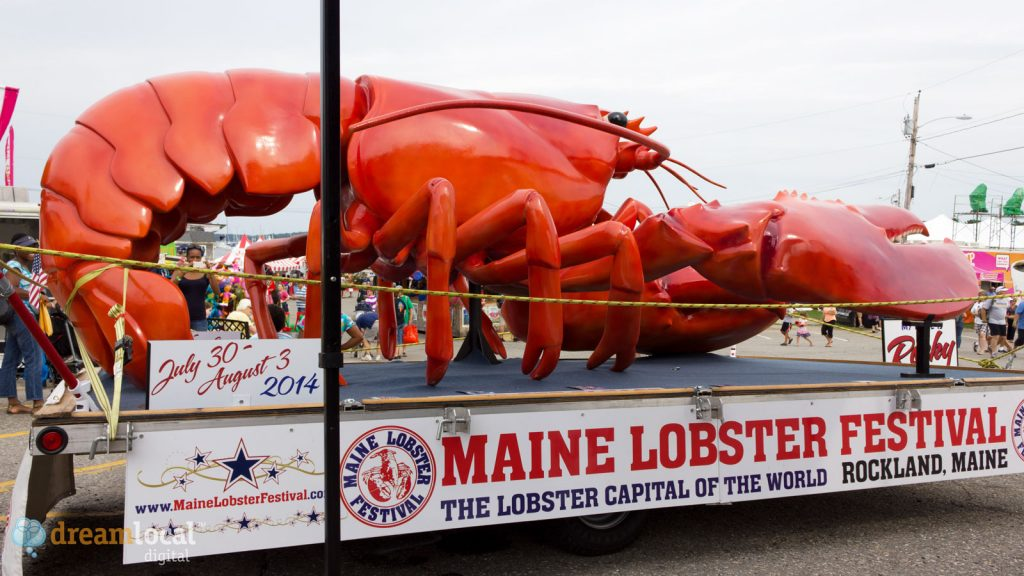 Maine Lobster Festival Float - Rockland Maine.